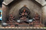 Shrine and Pigeons Janabaha