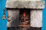 Shrine to Ganesha Kathmandu