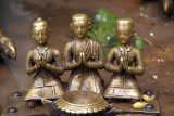 Three Small Praying Men