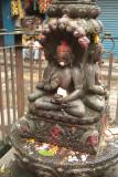 Buddhist Statue in Kathmandu Streets 02