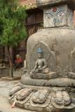 Buddhist Stupa at Kathesimbhu