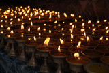 Butter Lamps at Kathesimbhu