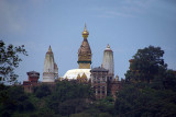 Approaching Swayambhu Stupa