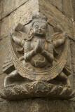 Carving of Garuda at Pashupatinath