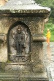 Carving of Shiva at Pashupatinath