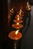 Butter Lamps Boudha Stupa