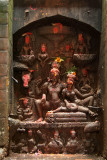 Collection of Carved Hindu Deities