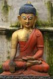 Colouful Buddha Image Kathmandu