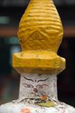Eyes of the Primordial Buddha on Small Stupa