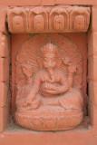 Ganesha Shrine set in Wall