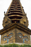 Harmika on Stupa at Kathesimbhu
