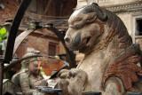 Large Stone Fu in Kathmandu