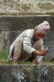 Maintaining the Temple Kalamochan Mandir