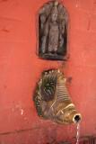 Metal Water Spout Kathmandu 02