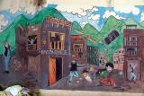 Mural of Earthquake Kathmandu