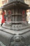 Pedestal of Buddhist Stupa Kathmandu 02