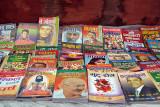 Selection of Books for Sale Kathmandu