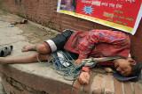 Sleeping Porter Kathmandu