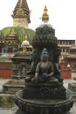 Statues and Stupas at Kathesimbhu