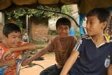 Boys in Bhaktapur