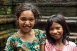 Two Young Girls Kathmandu