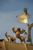 Detail on Golden Gate Bhaktapur