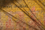 Made in Nepal on Wall Bhaktapur