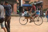 Cycling Through Durbar Square Bhaktapur