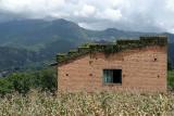 Brick Building near Kopan Monastery