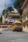School Bus Kopan Monastery
