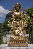 Statues at Kopan Monastery