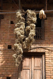 Flowers and Corn Drying Bhaktapur
