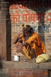 Stoned Sadhu Bhaktapur