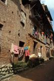 Washing Hung on Wall Bhaktapur