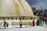 Circumambulating the Stupa Boudha 02