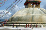 Circumambulating the Stupa Boudha 04