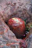 Annointed Shiva Linga at Chobar Temple