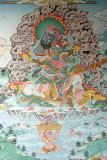 Painting on Monastery Wall Pharping 01