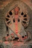 Many Armed Kali Statue Kirtipur