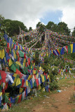 Prayer Flags above Monastery Pharping 02