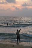 Fishing at Sunset Negombo