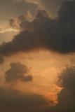 Stormy Sunset Clouds Anuradhapura