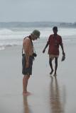 Chris on the Beach Upavelli