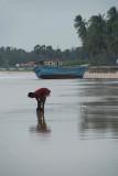 Man on Upavelli Beach