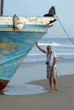 Chris and Boat Upavelli