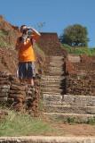 Chris on top of Sigriya