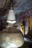 Dagoba in Cave Dambulla
