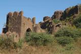 Wall of Bidar Fort