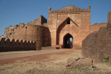 Grave with Garlands by Entrance to Bidar Fort