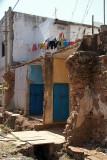 Half Demolished Building Bidar